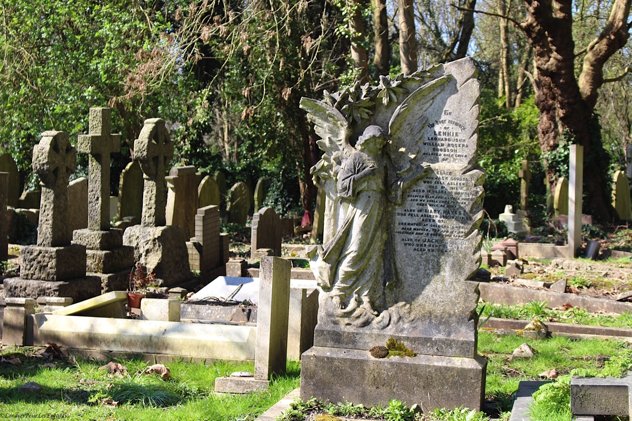 Cimetière d'Highgate Tombe de Mac Laren