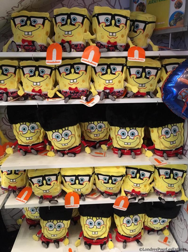 le Nickelodeon Store de Leicester Square