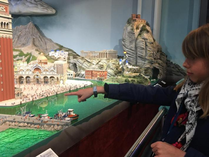 Un monde miniature à Times Square : The Gulliver's Gate