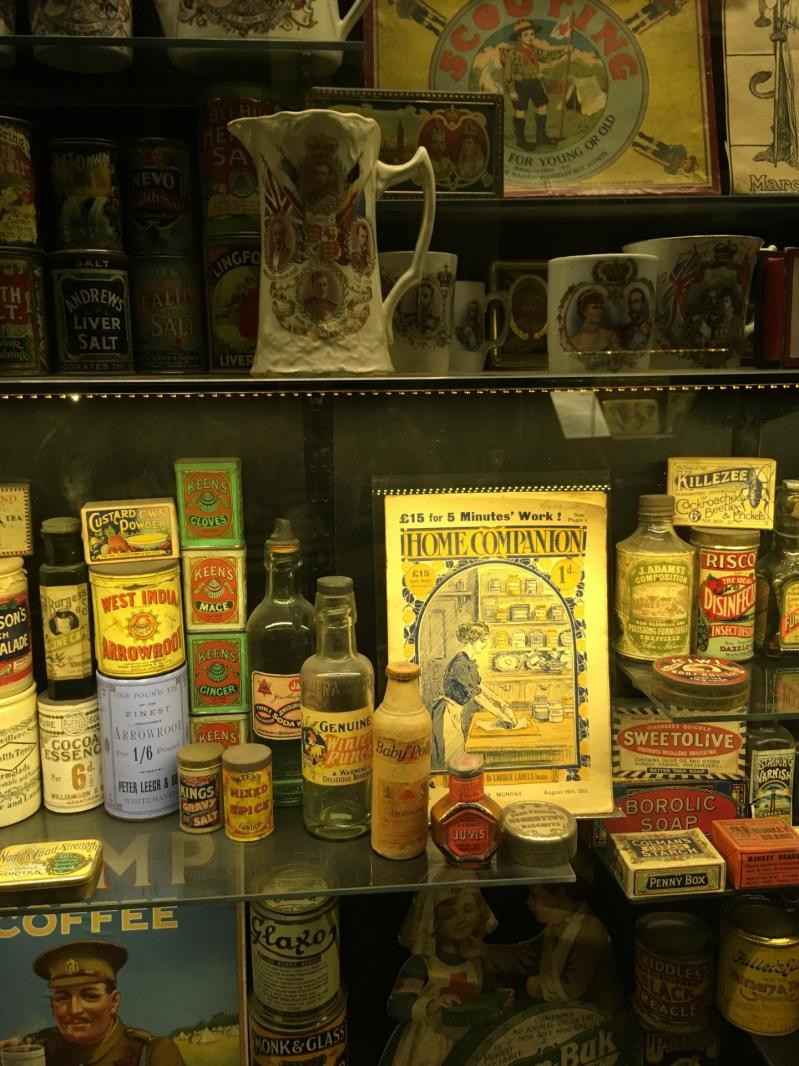 On a visité the Museum of Brands, Packaging and Advertising !