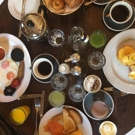 Un petit Déjeuner Very British au Holborn Dining Room Restaurant