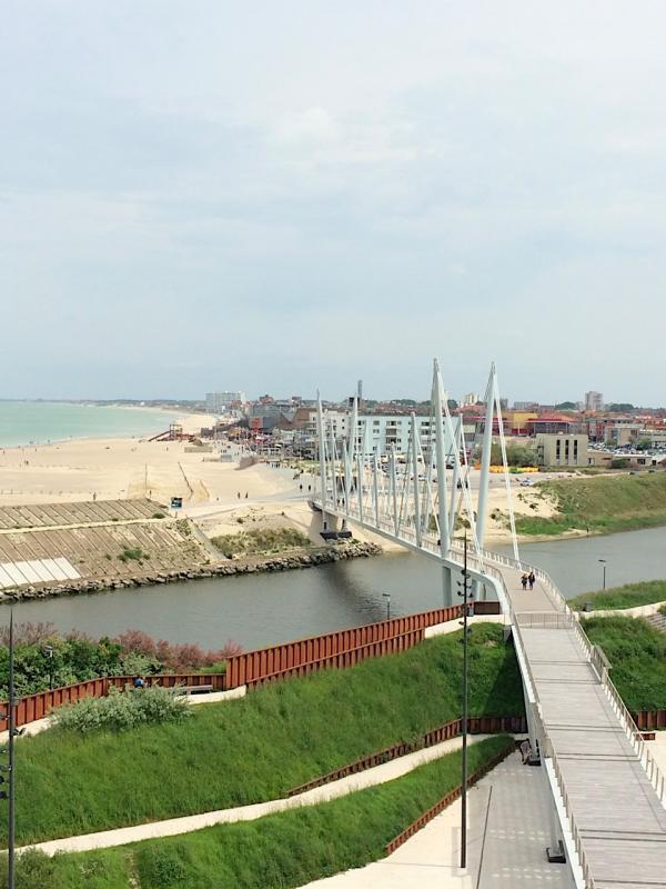 Dunkerque vue du FRAC