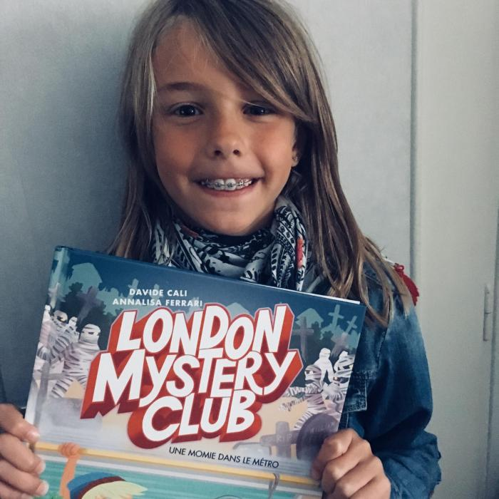 week-end lecture #171 : London Mystery Club, Une momie dans le métro