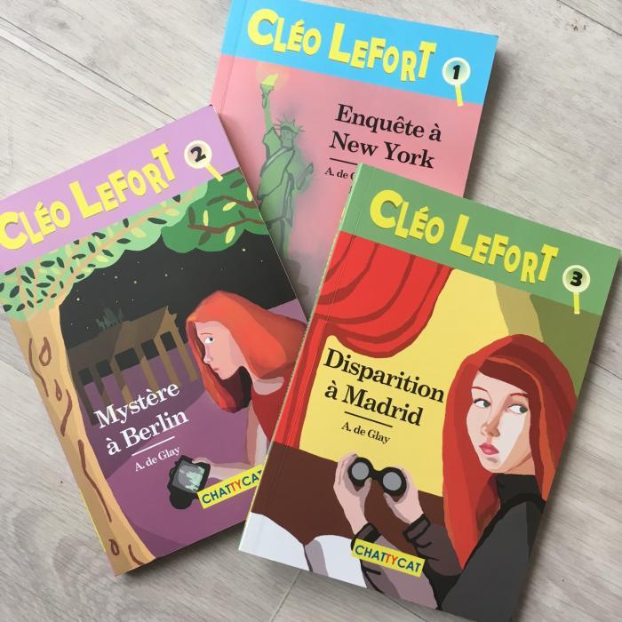 Cléo Lefort, Enquête à NewYork