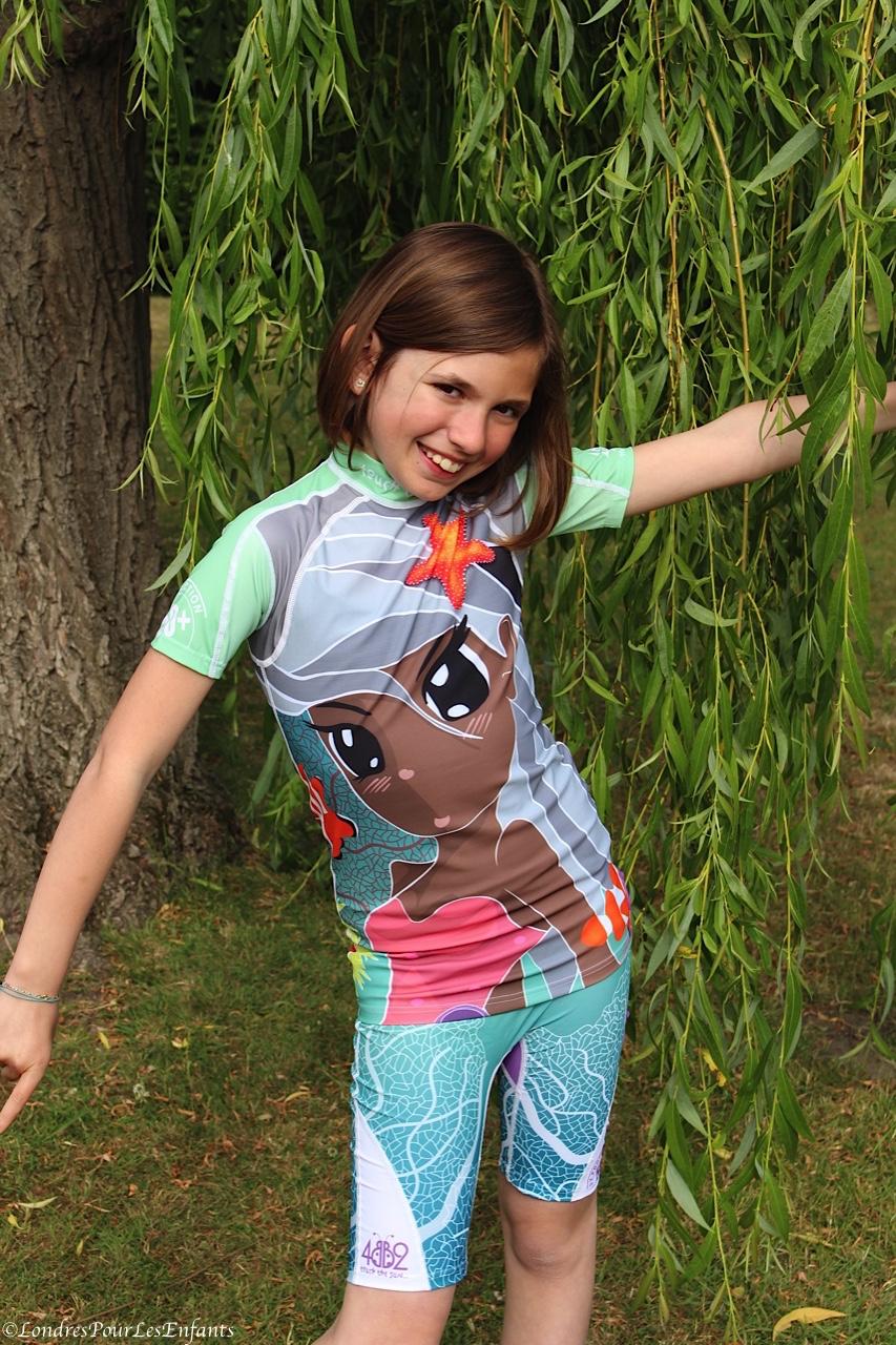 Stella-Rose, Princess of Sea en 4BB2, la référence en matière de maillots anti UV