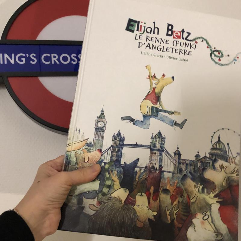 Week-end lecture #216 : Elijah Betz, le renne (punk) d'Angleterre