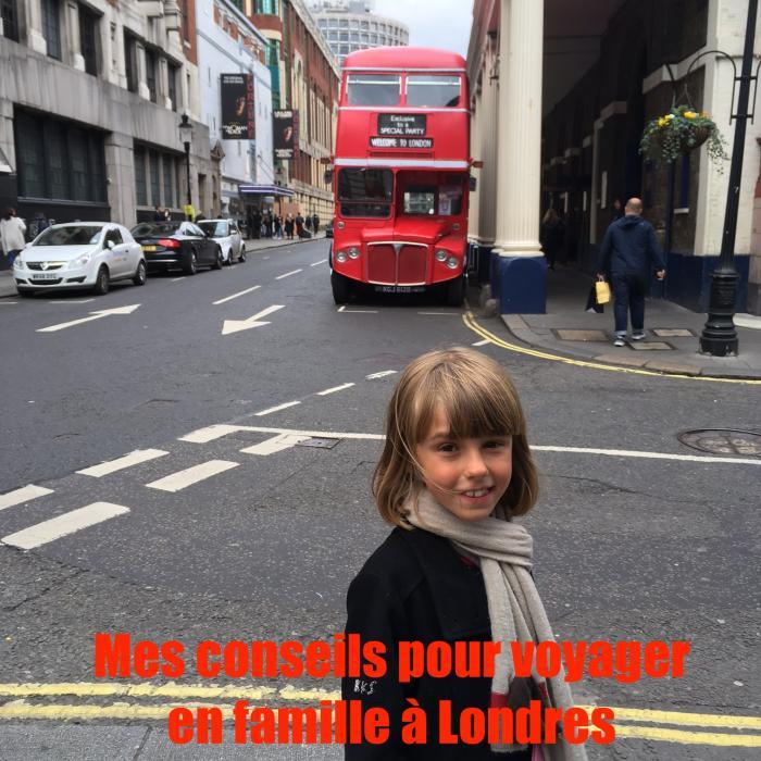 Mes conseils pour voyager en famille à Londres