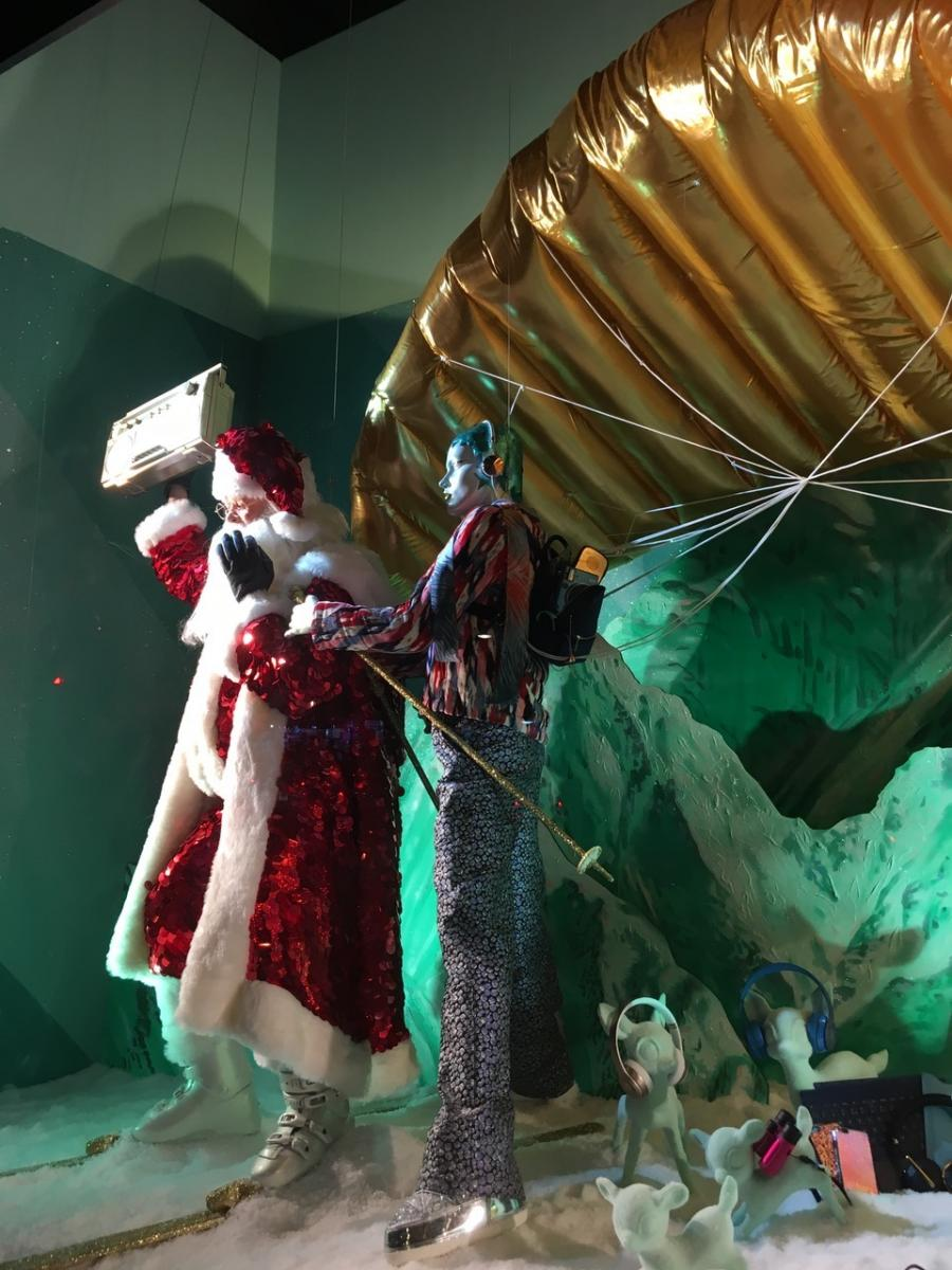 Selfridges Christmas Windows London