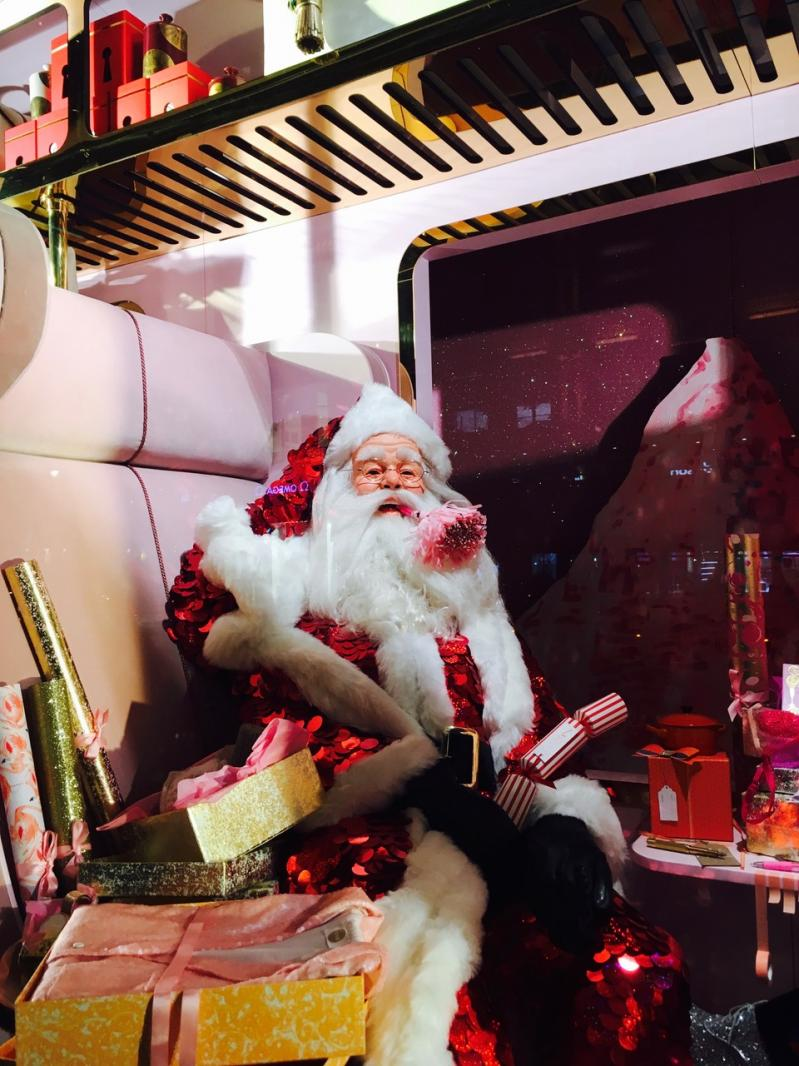 C'est déjà Noël chez Selfridges { christmas spirit inside }