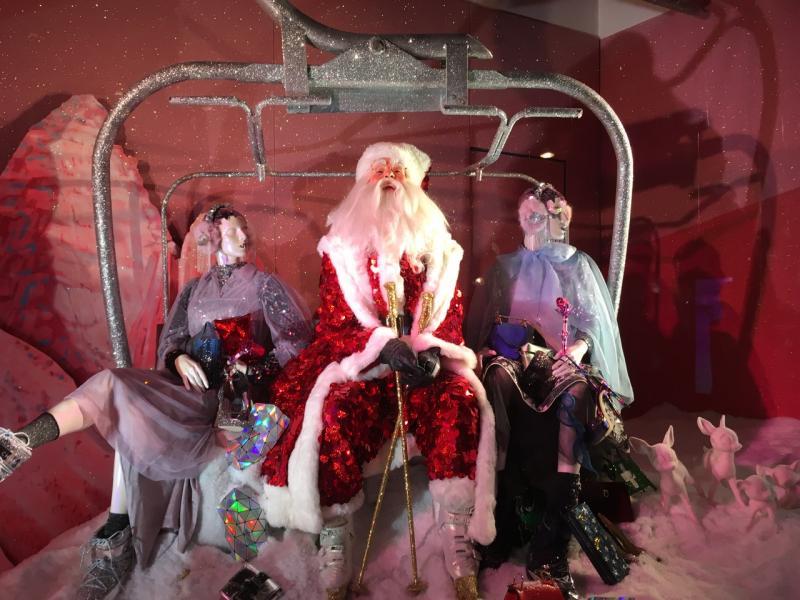 Selfridges Christmas Windows London