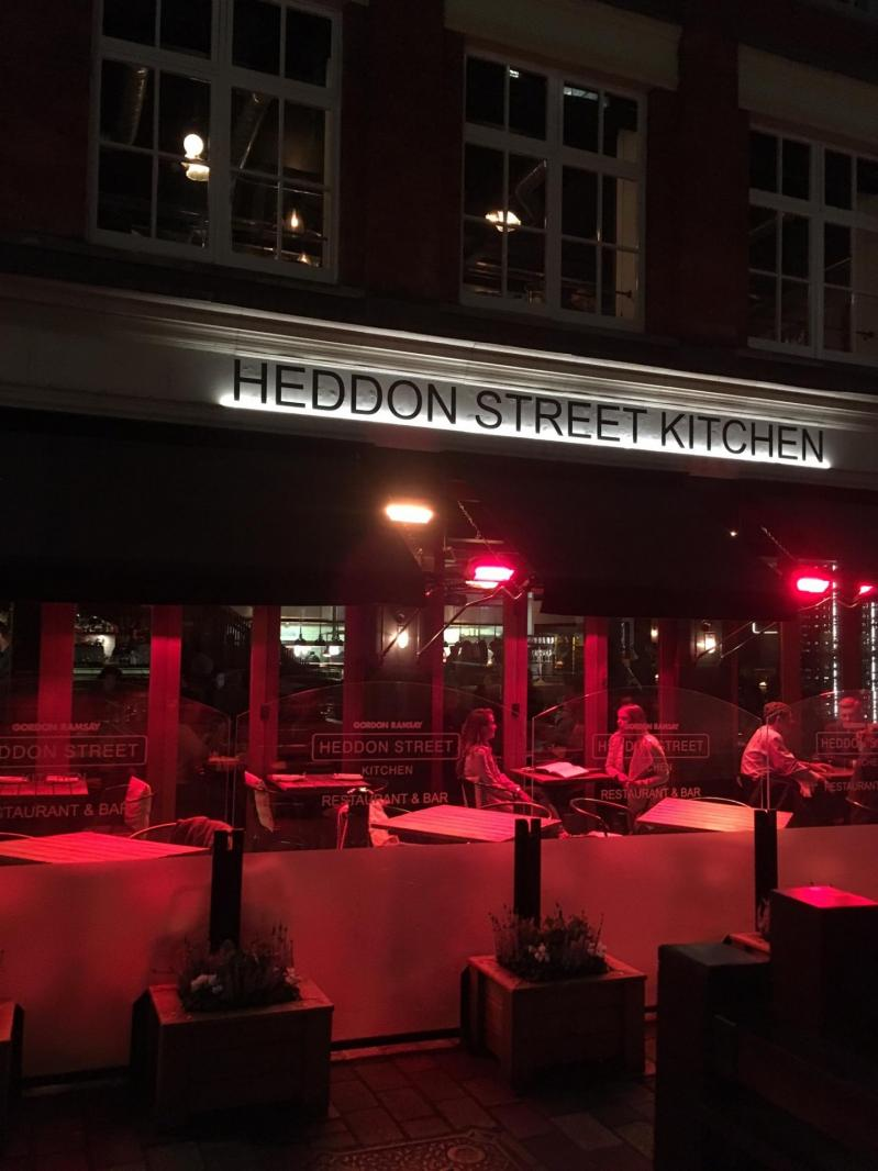 Heddon street kitchen Gordon Ramsay Review