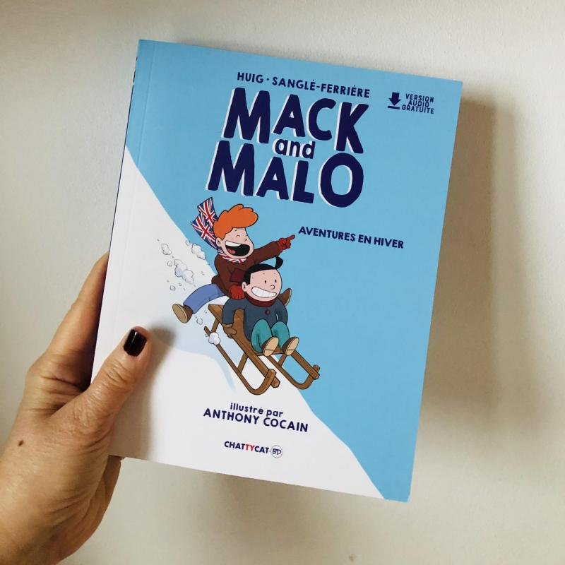Week-end lecture #218 : Mack and Malo, Aventures en hiver