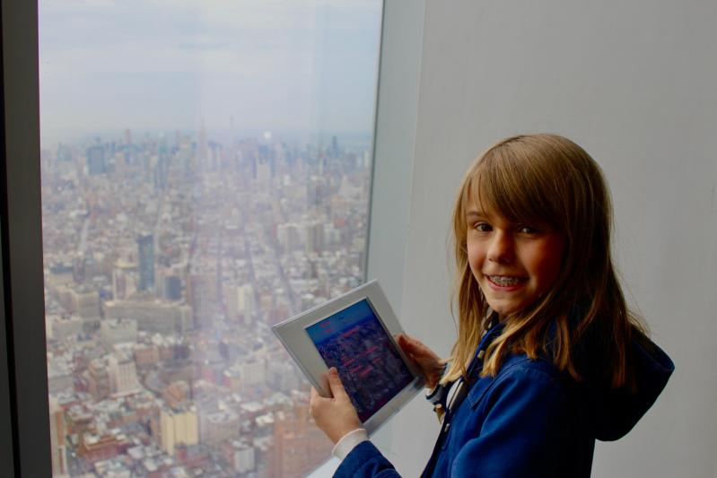 Monter tout en haut du One World Observatory