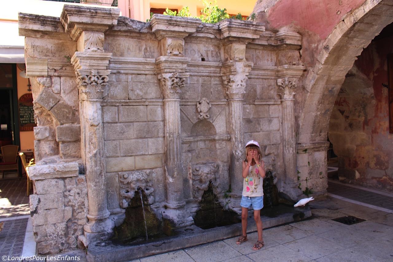 La Fontaine Rimondi à Rethymno
