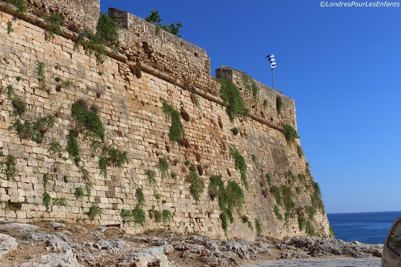 forteresse vénitienne de Rethymo