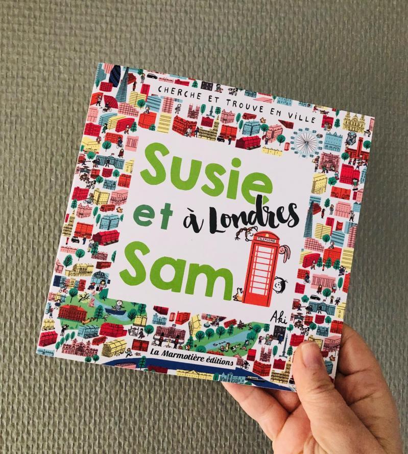 Week-end lecture #220 : Cherche Et Trouve Susie et Sam à Londres