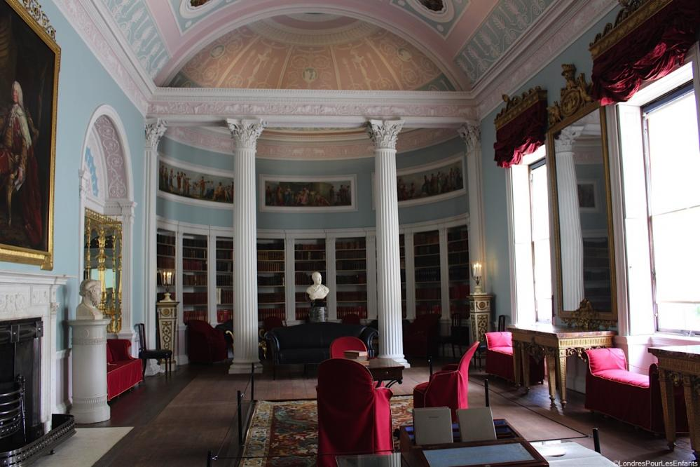 Kenwood House : la bibliothèque The Library