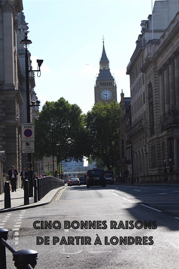 5 bonnes raisons de partir à Londres