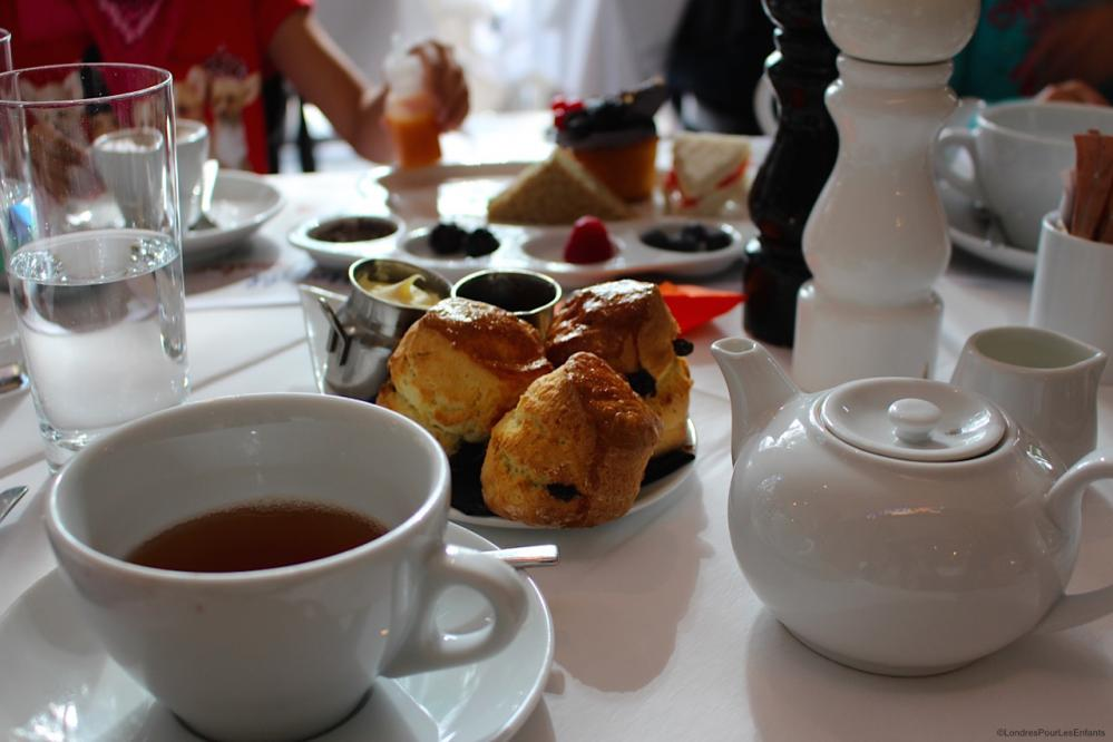 afternoon tea at Gallery Mess, London