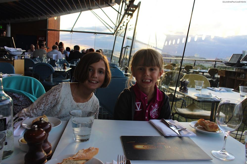 Kids at OXO Tower