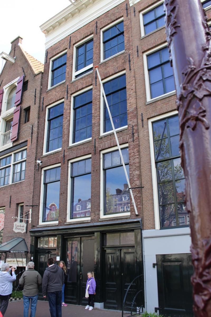 Visiter la maison d'Anne Frank à Amsterdam avec les enfants