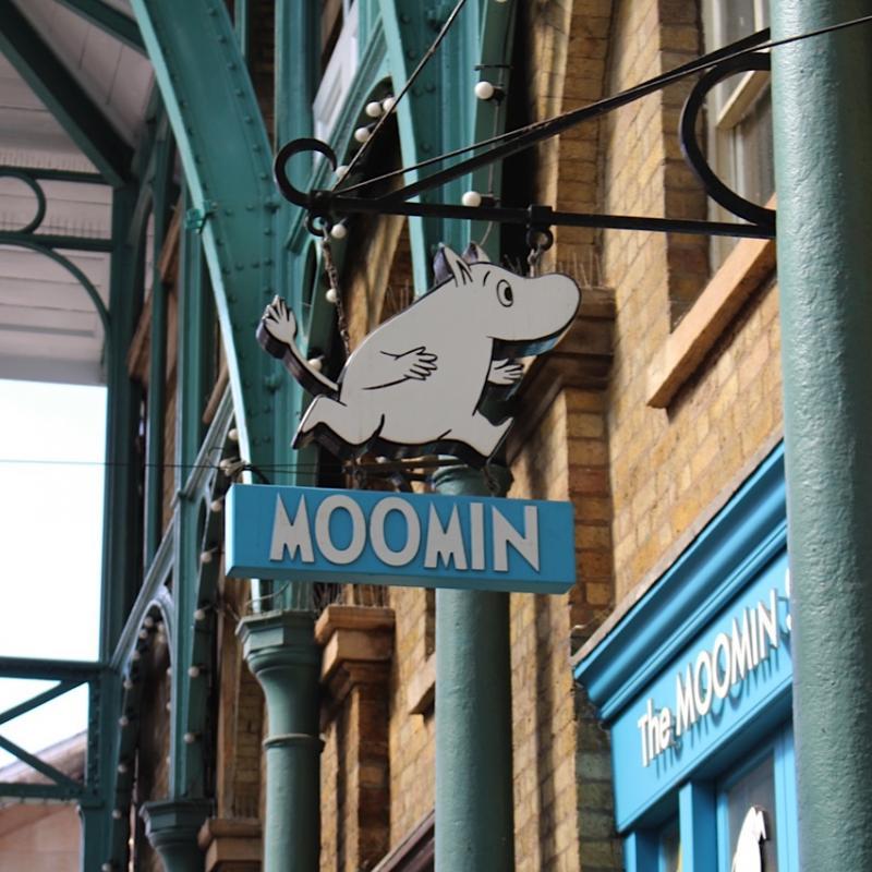 Boutique Moomin à Covent Garden