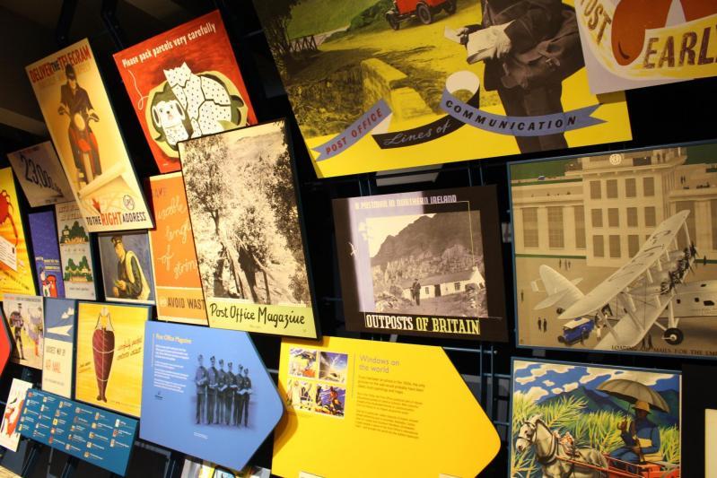 notre visite au London Postal Museum
