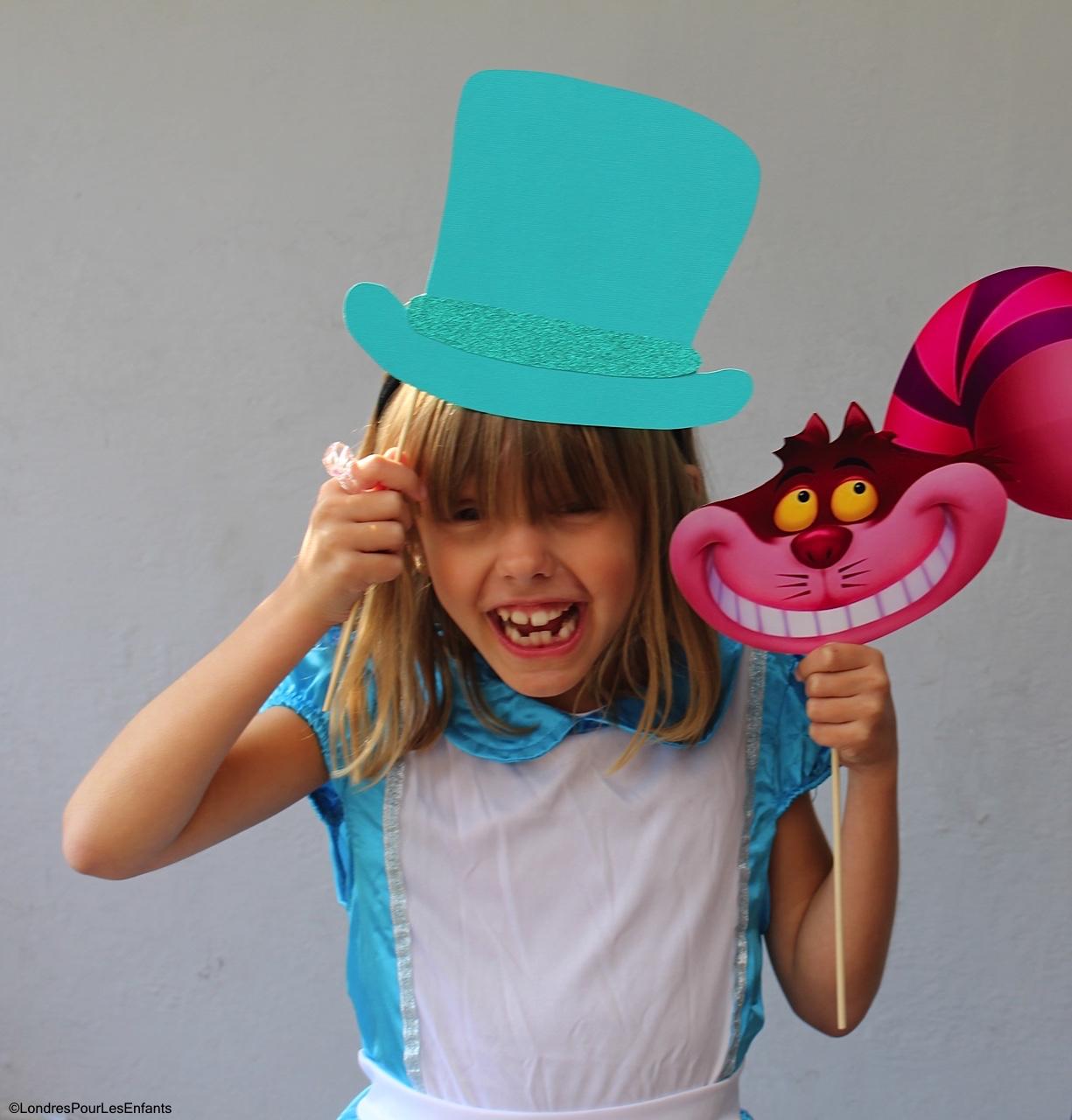 Alice in Wonderland Mon Photobooth