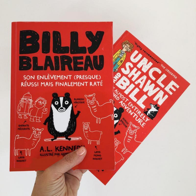 Week-end lecture #188 : Billy blaireau : Son enlèvement (presque) réussi mais finalement raté
