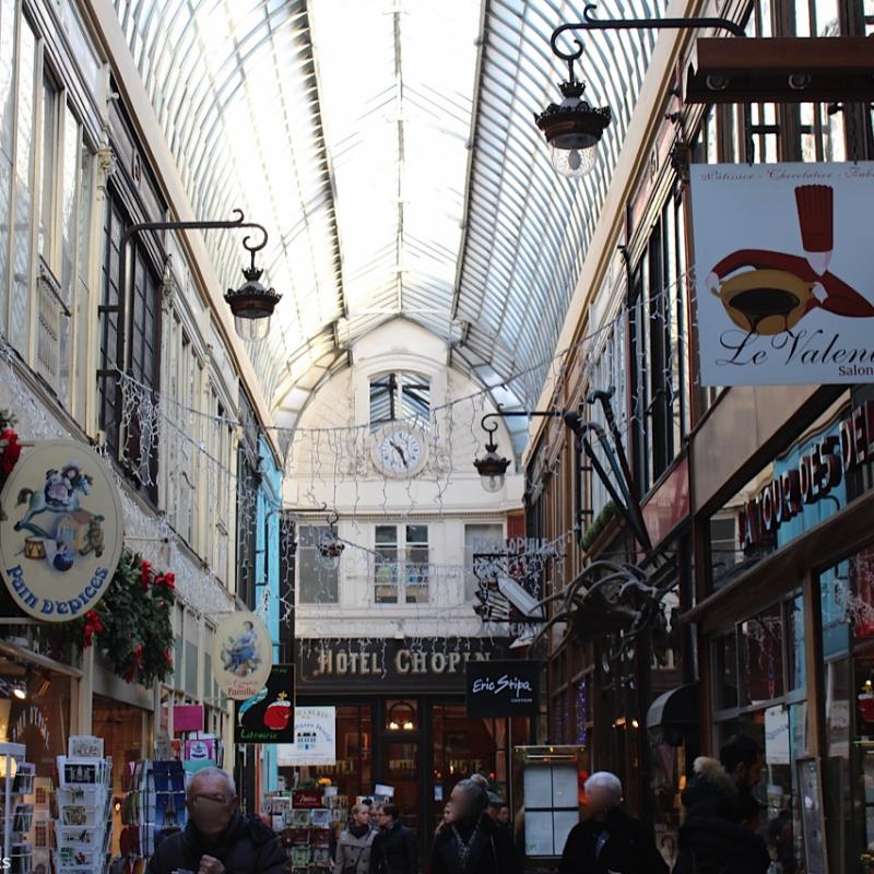 Paris, Passage Jouffroy