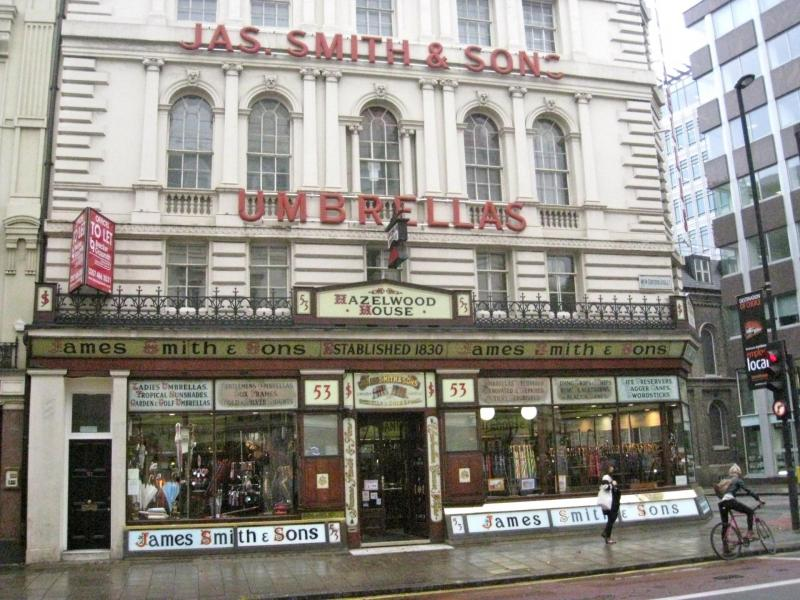 James Smith & Sons Umbrella Boutique