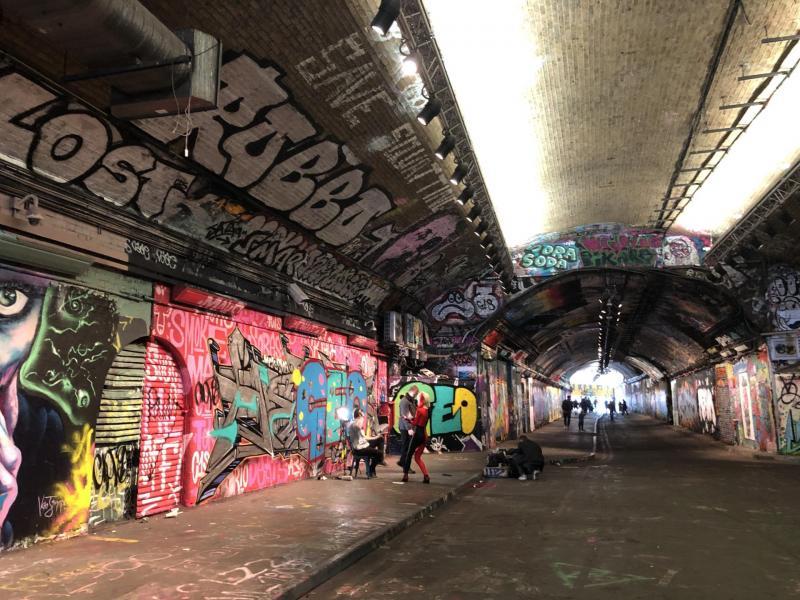 Leake Street Tunnel