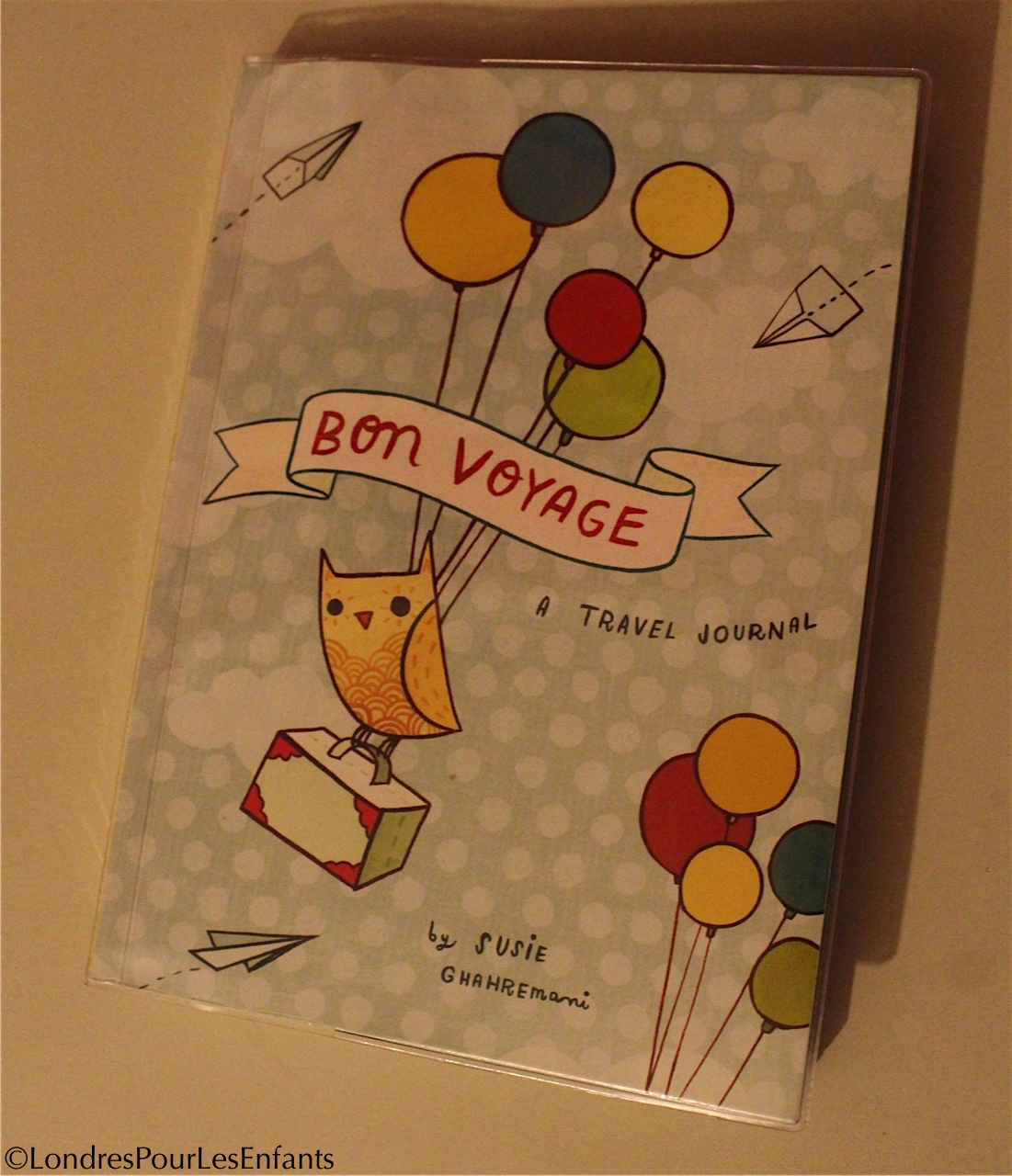 Bon voyage : travel journal