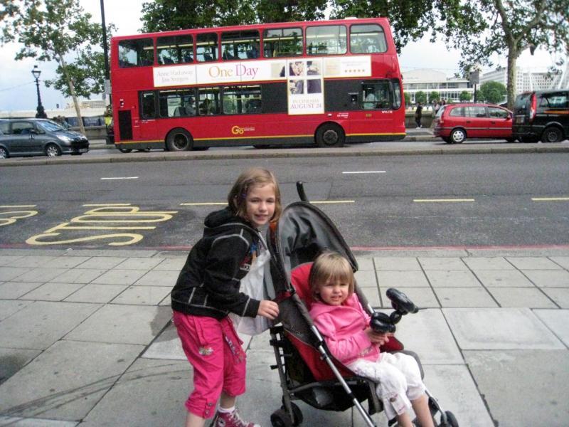 Londres avec des enfants en bas âge
