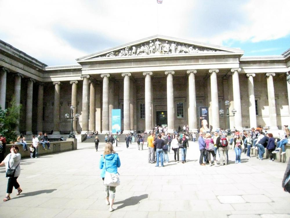 British museum with kids