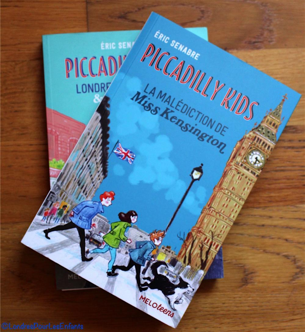 week-end lecture #98 : Piccadilly Kids, La malédiction de Miss Kensington