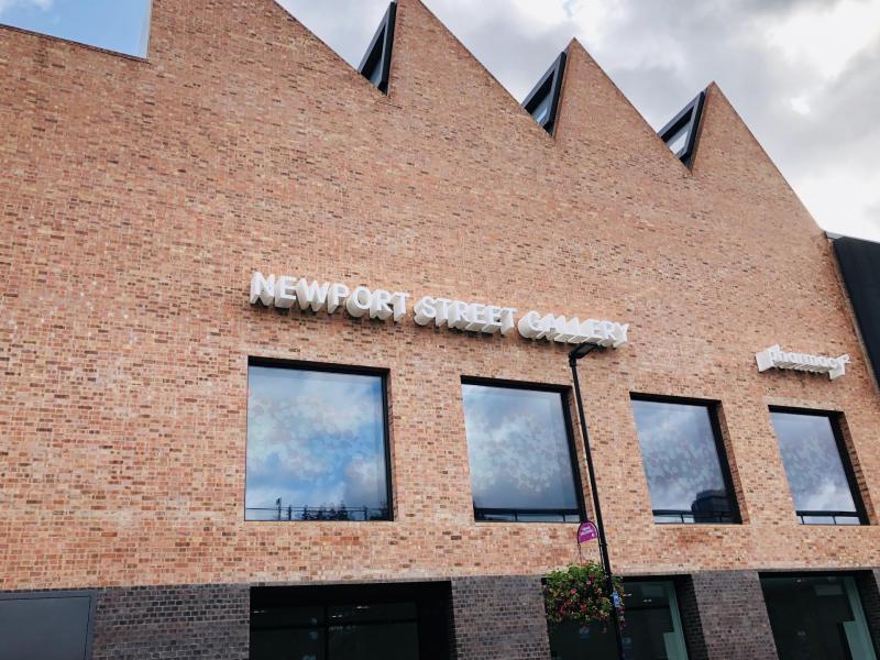 La galerie de Damien Hirst : Newport Street Gallery