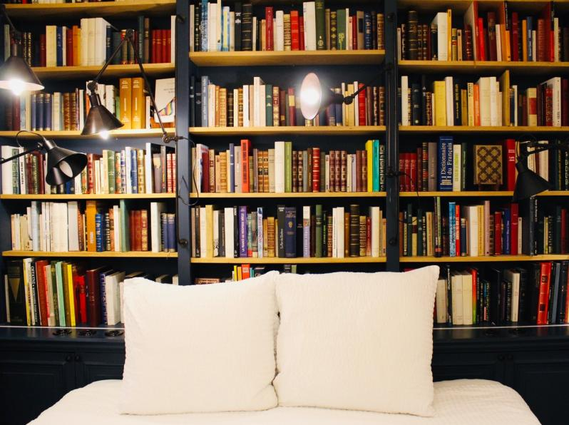 Et si on dormait dans une librairie { review Paris Boutik la Librairie }