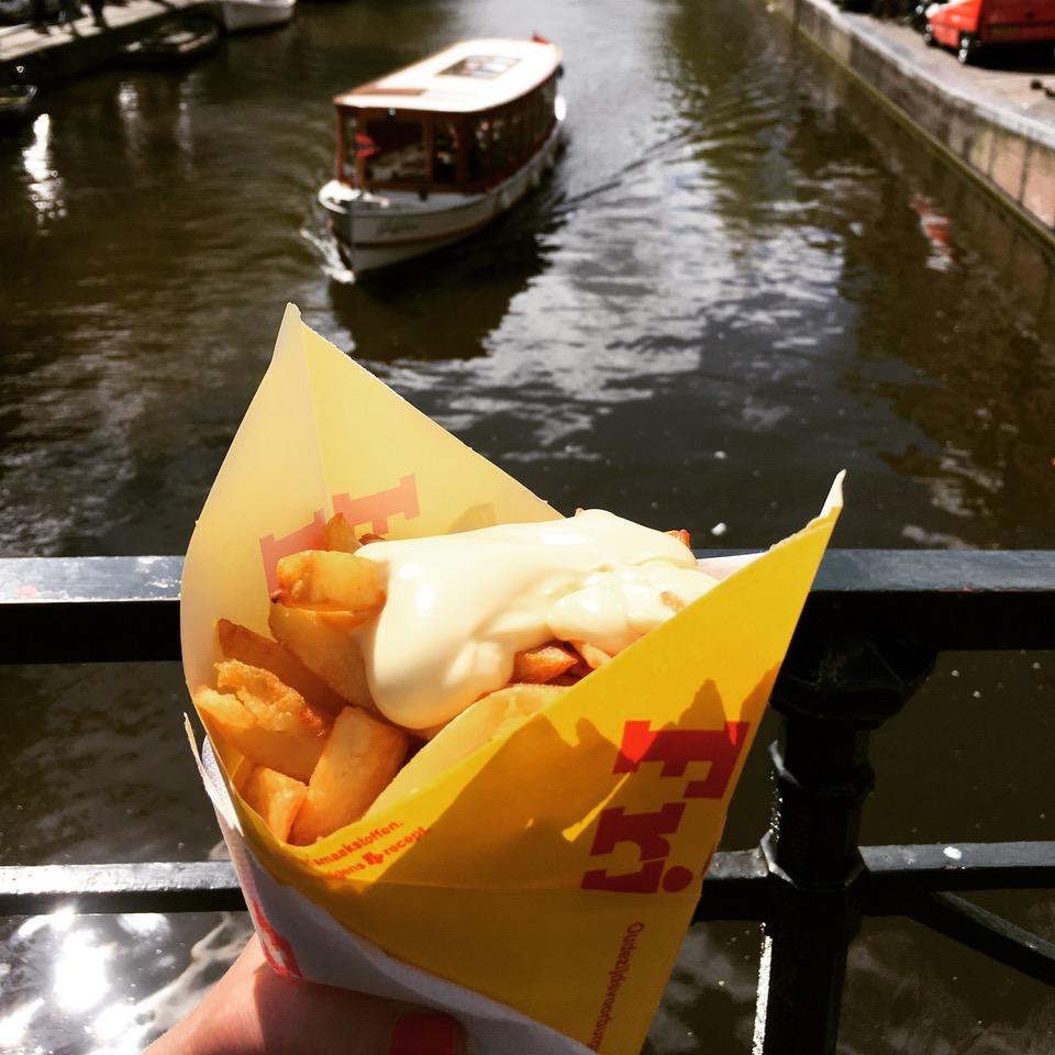 Un tour d'Amsterdam en clichés
