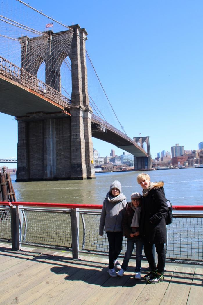 Retourner à New York...