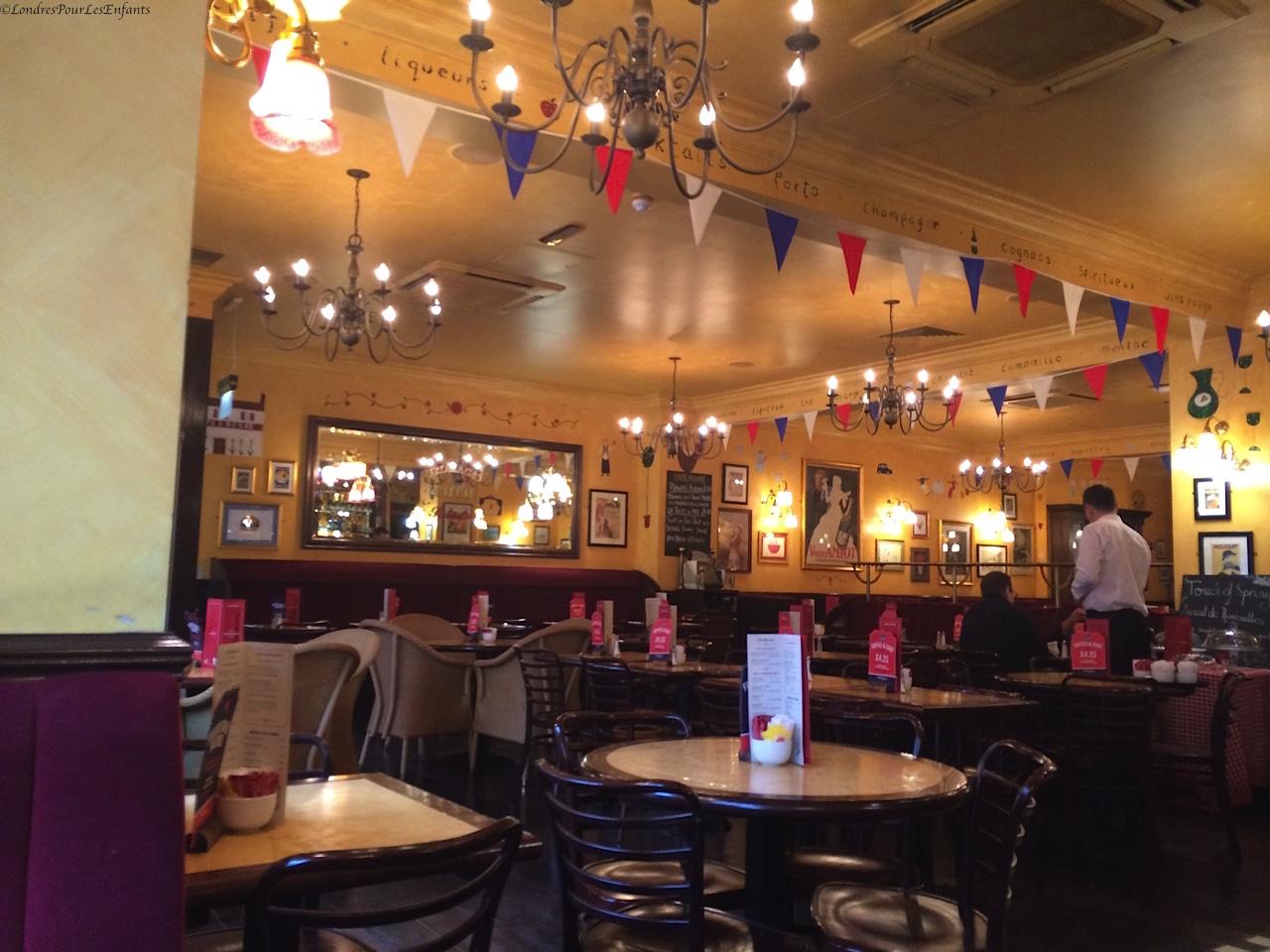 Café Rouge Bloomsbury
