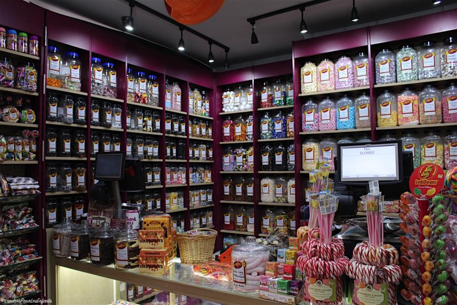 Hardys London Sweet shop