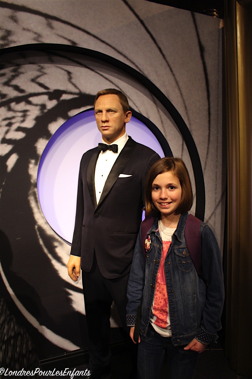 Madame Tussauds London James Bond