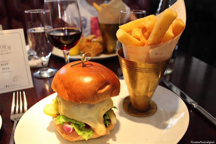 Reform Social & Grill London Burger