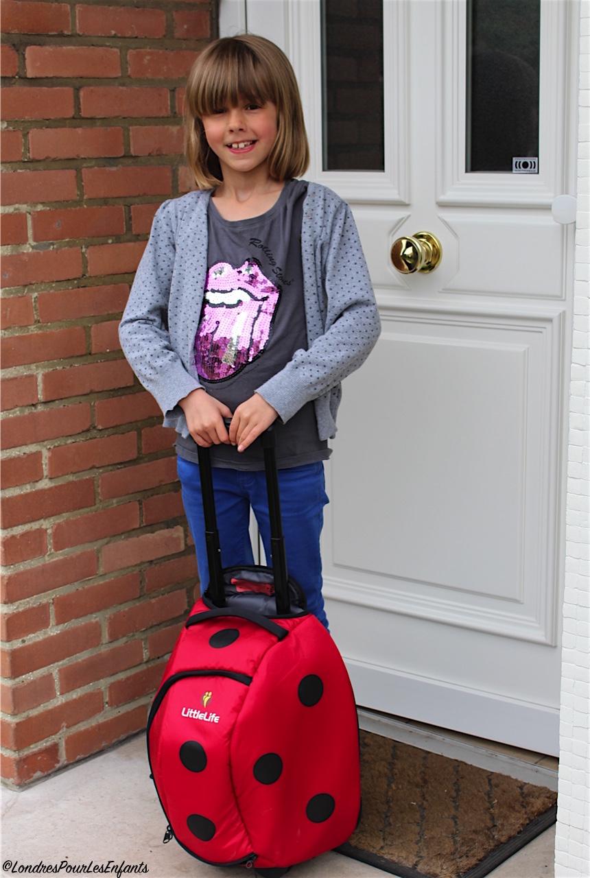 Kidshop, avis valise enfants little life