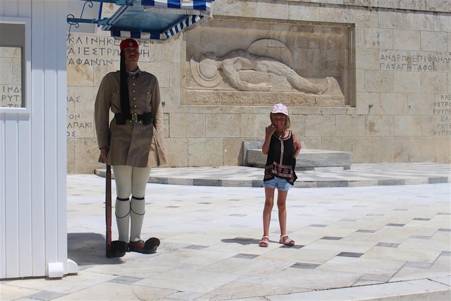 Explorer Athènes avec les enfants