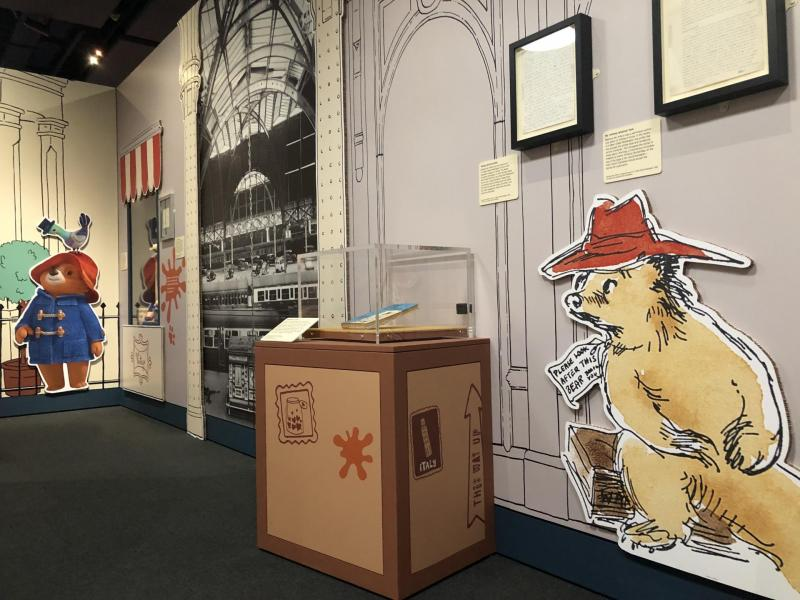Paddington: The Story of a Bear Exhibition (British Library)