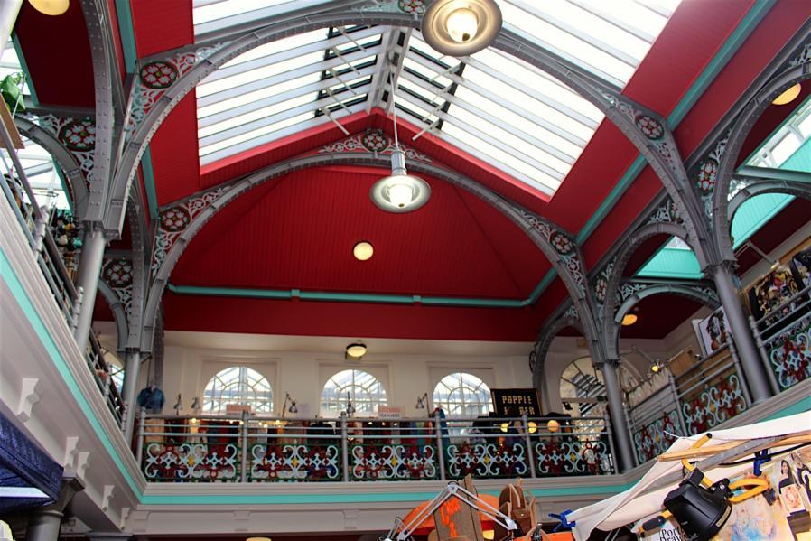 Balade à Camden : Hall Market