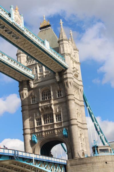 L' icône de Londres :  Tower Bridge