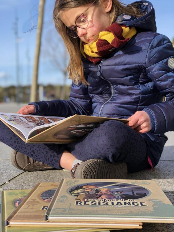 Week-end lecture #200 : Les enfants de la résistance
